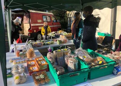 The glut stall at St Swithun's