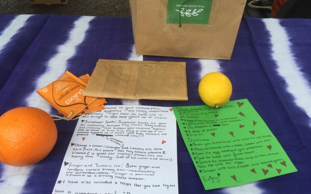 Immunity booster packs at St Swithun's community food stall – 1 April from 9.30am