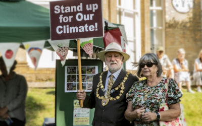 Launch of Great Big Green Week: Bridport's Proclamation by our Mayor, Ian Bark