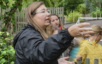 Meet Gardening Teacher 'Tia' Perrella, who works on the Edible Gardens projects at Primary Schools: